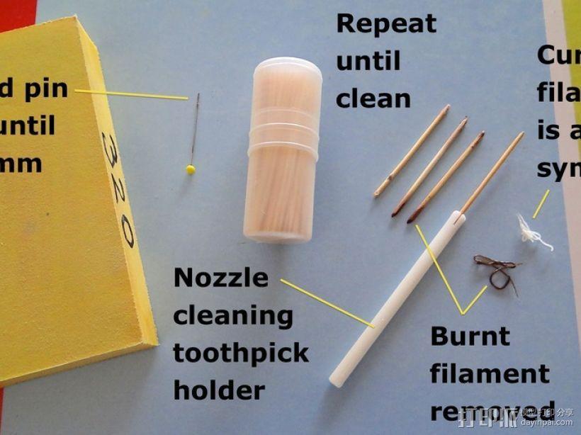 排气管清洁工具 3D模型  图2