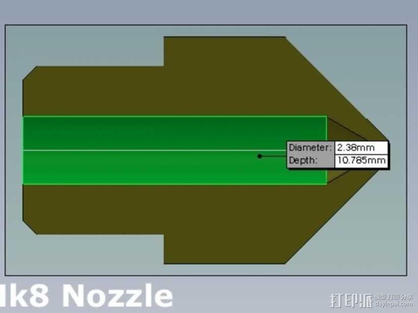 排气管清洁工具 3D模型  图5