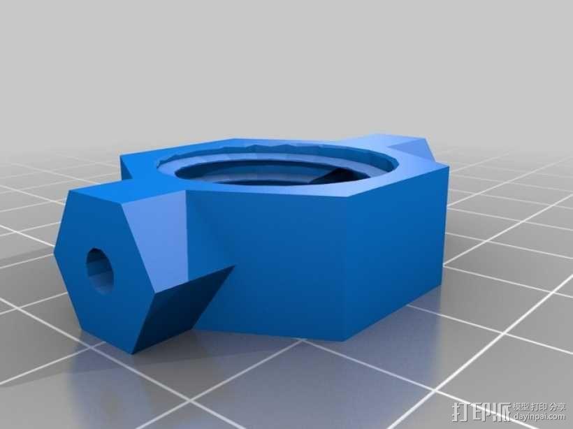 Dremel电磨支架 3D模型  图3