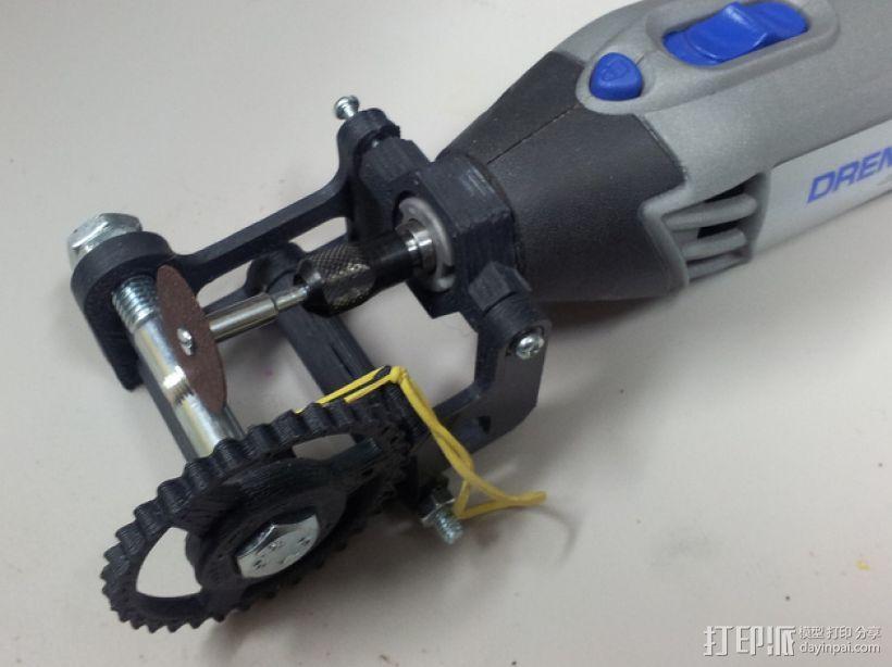 Dremel电磨支架 3D模型  图2