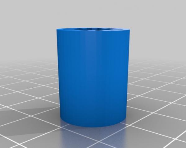 直线轴承 3D模型  图2