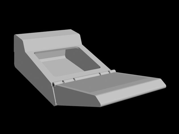 树莓派三录仪 3D模型  图3