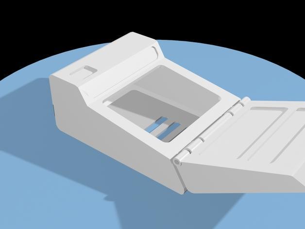 树莓派三录仪 3D模型  图2