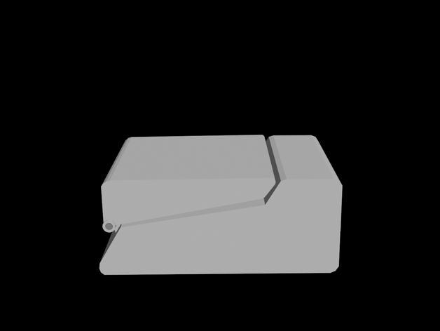 树莓派三录仪 3D模型  图5