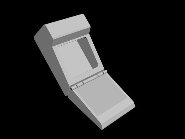 树莓派三录仪 3D模型  图4
