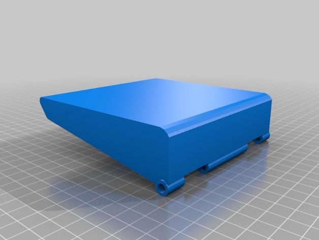 树莓派三录仪 3D模型  图10