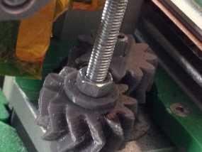 z轴人字形齿轮 3D模型