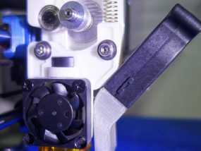 挤出机J形喷头固定器 3D模型