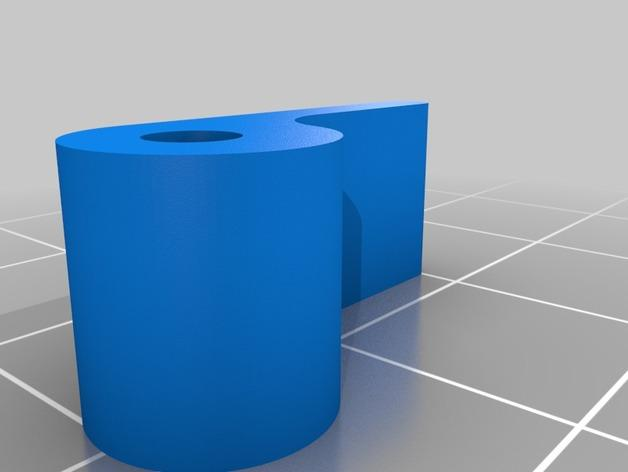 K8200 卷线轴凸轮锁 3D模型  图2