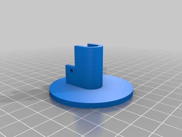 K8200 卷线轴凸轮锁 3D模型  图3
