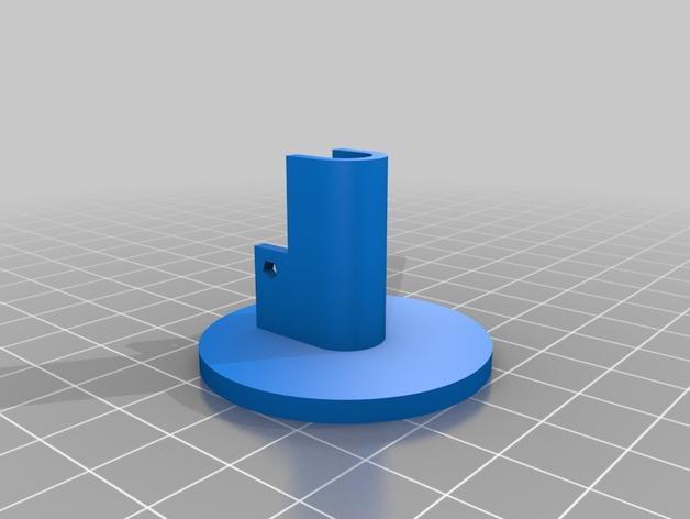 K8200 卷线轴凸轮锁 3D模型  图4