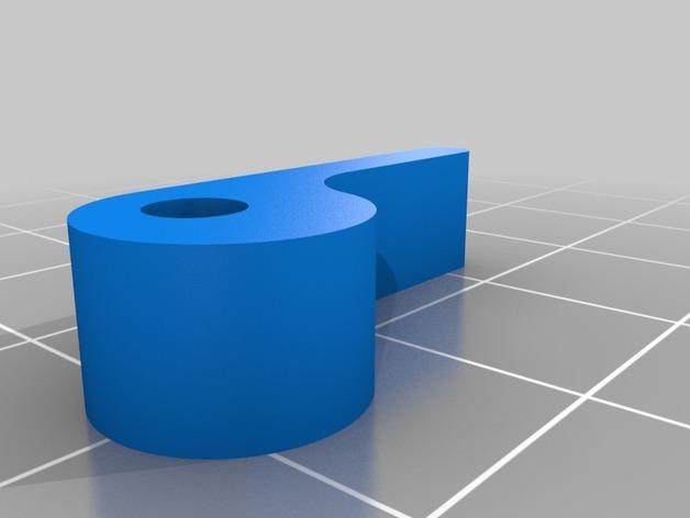 K8200 卷线轴凸轮锁 3D模型  图5
