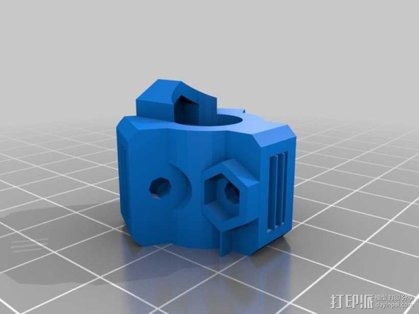 直线轴承模组 3D模型  图2