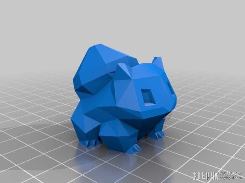 妙蛙种子 模型 3D模型  图1