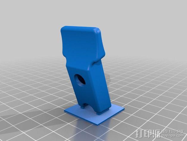 护指垫 3D模型  图2