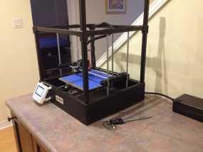 Rigidbot打印机智能控制器盒子 3D模型