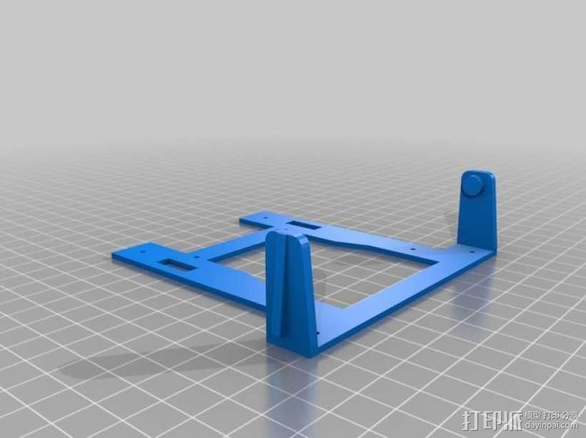 Rigidbot打印机智能控制器盒子 3D模型  图5