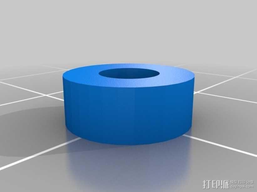 Rigidbot打印机智能控制器盒子 3D模型  图7