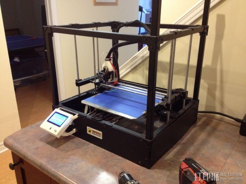 Rigidbot打印机智能控制器盒子 3D模型  图9