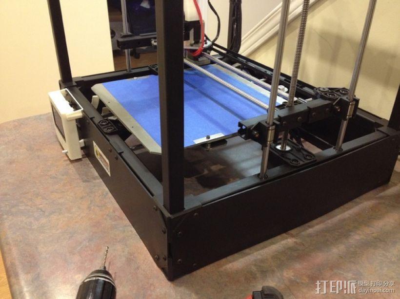 Rigidbot打印机智能控制器盒子 3D模型  图8