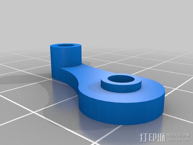 Replicator双重挤出机 3D模型  图5