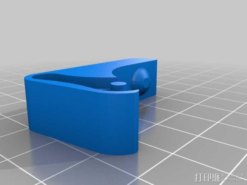 Replicator双重挤出机 3D模型  图7