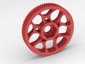 齿轮轴承 3D模型
