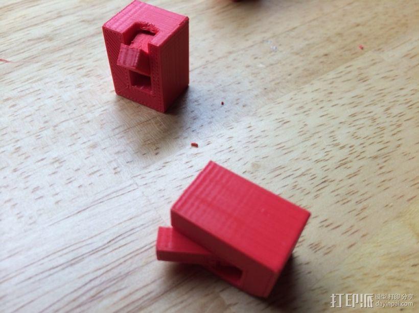 铰链活动关节 3D模型  图1