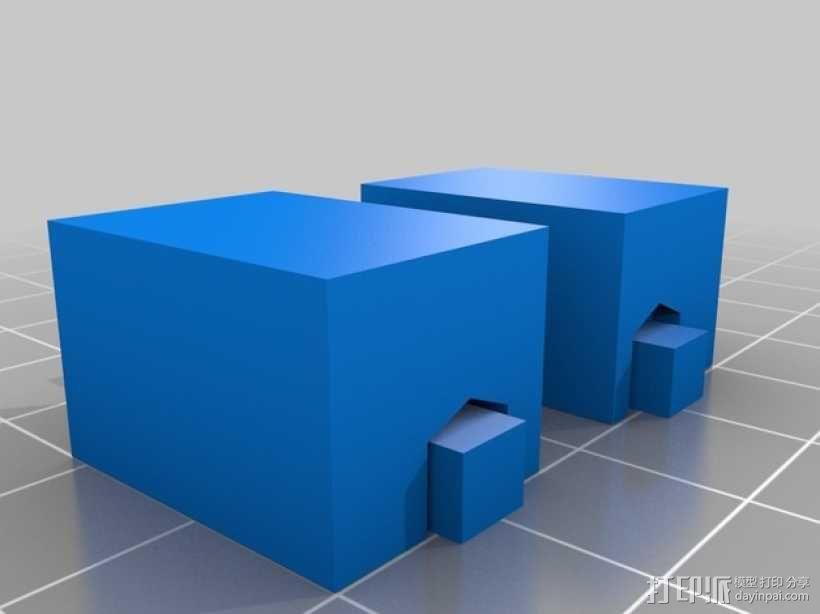 铰链活动关节 3D模型  图2