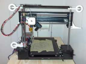 打印机滑轮滑杆套组 3D模型