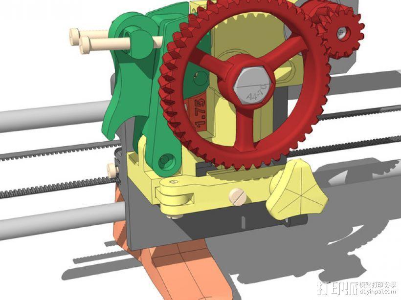 LUCAS 挤出机 3D模型  图1