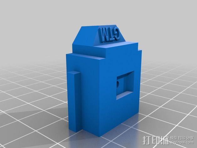 LUCAS 挤出机 3D模型  图3