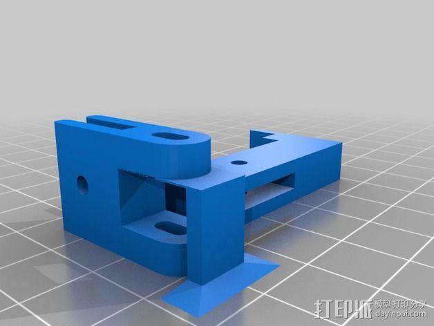 LUCAS 挤出机 3D模型  图4