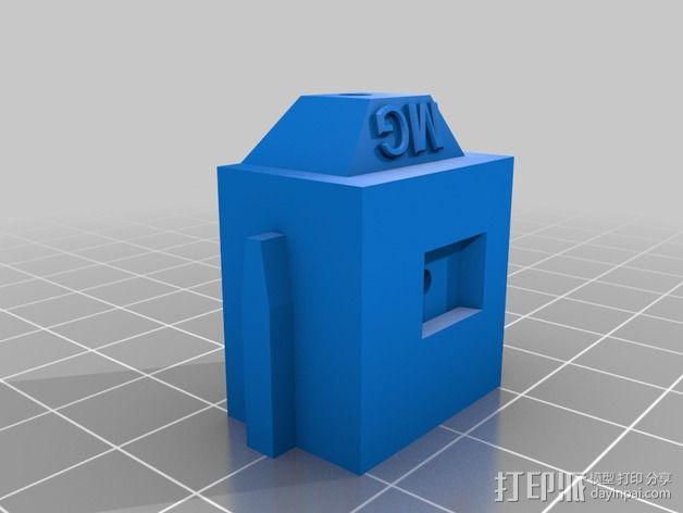 LUCAS 挤出机 3D模型  图5