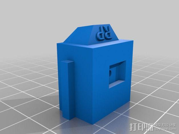 LUCAS 挤出机 3D模型  图8
