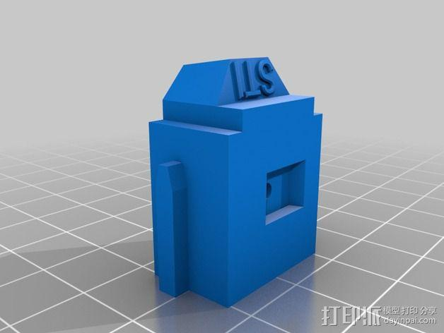 LUCAS 挤出机 3D模型  图10