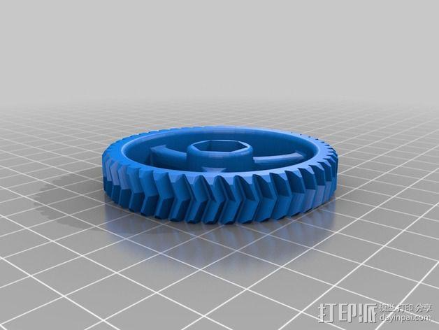 LUCAS 挤出机 3D模型  图13