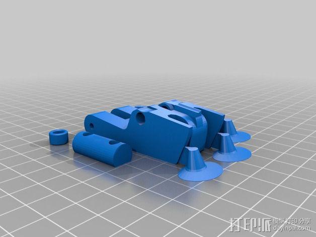 LUCAS 挤出机 3D模型  图12