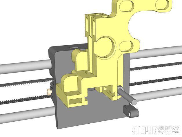 LUCAS 挤出机 3D模型  图17