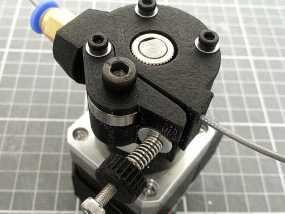 Kossel mini打印机挤出机 3D模型