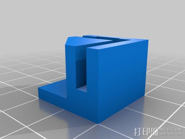 打印机直角底座 3D模型  图2