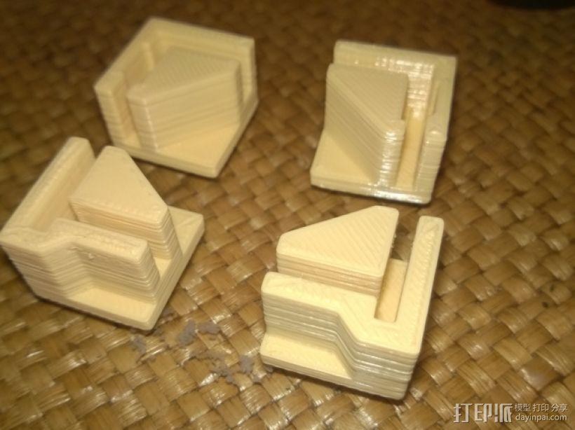 打印机直角底座 3D模型  图1