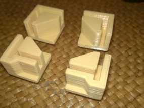 打印机直角底座 3D模型