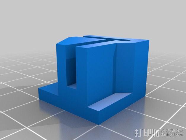 打印机直角底座 3D模型  图4
