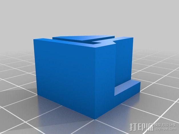 打印机直角底座 3D模型  图3