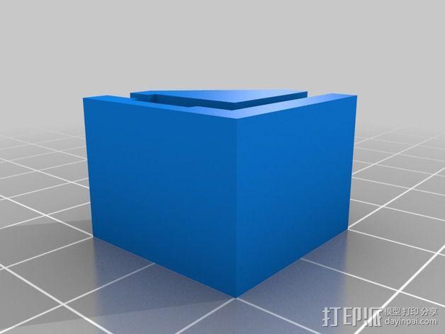 打印机直角底座 3D模型  图5