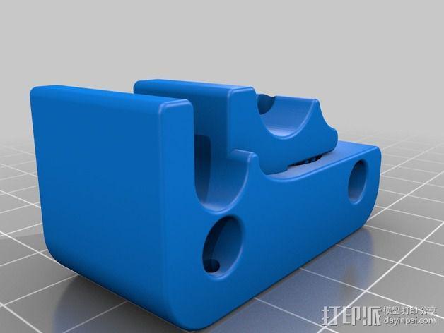 直线驱动材料挤出机 3D模型  图2