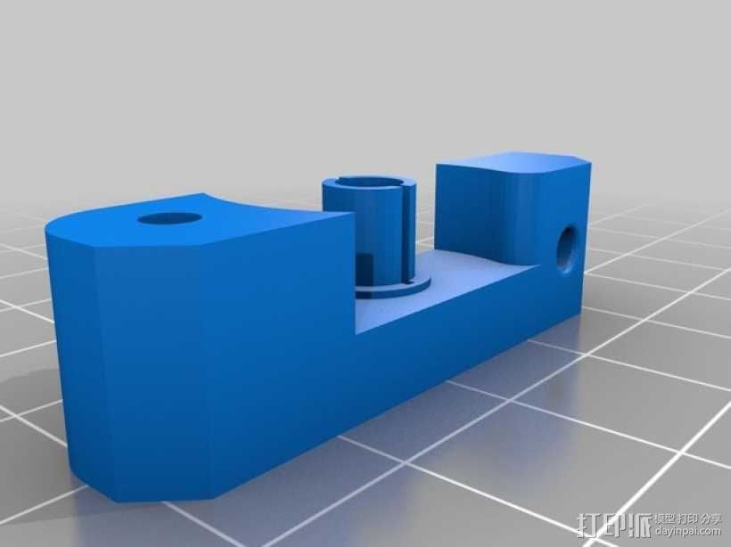 Bowden MK7 挤出机 3D模型  图4