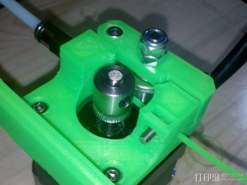 Bowden MK7 挤出机 3D模型  图2
