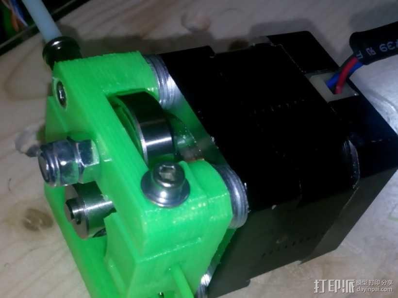 Bowden MK7 挤出机 3D模型  图1